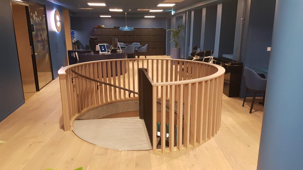 Interiør trapp