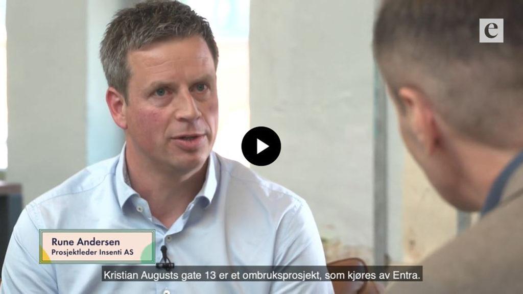 Norges første ombruksprosjekt