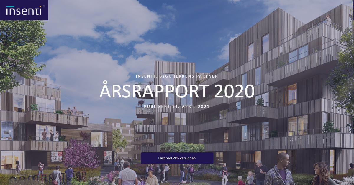 Årsrapport for Insenti året 2020