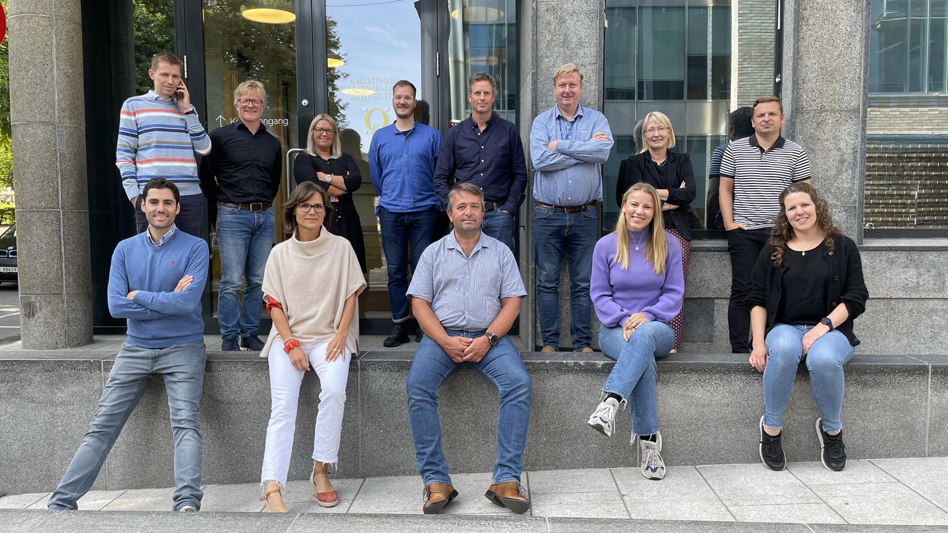Fagpersoner fra Entra, Insenti og Grønn Byggallianse deltok på BREEAM-pilotkurset